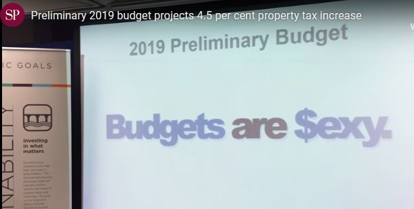 City of Saskatoon 2019 budget talks start Monday
