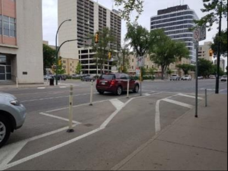 Business group put up 'surveillance' cameras to track downtown bike lane usage